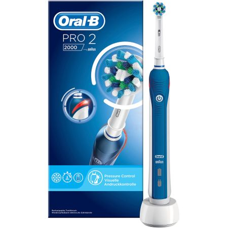 Електрическа четка за зъби Oral-B PRO 2 2000