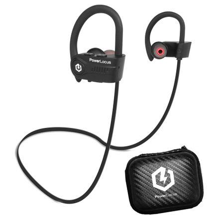 Bluetooth Слушалки PowerLocus IPX7 за спорт