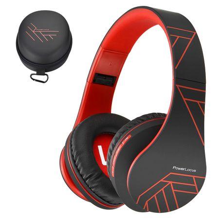 Bluetooth Слушалки, PowerLocus Over-Ear Сгъваеми