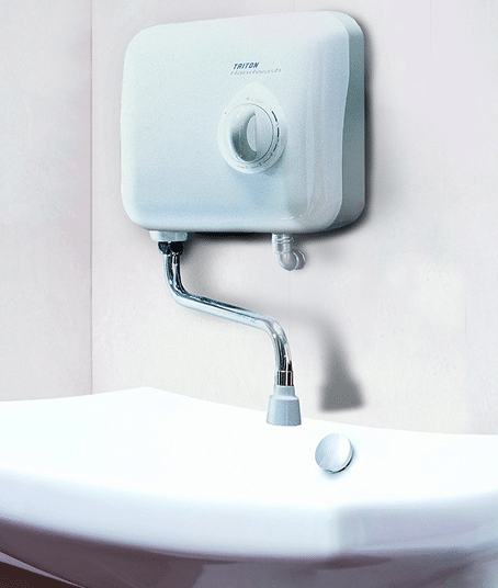 Проточен бойлер над мивката
