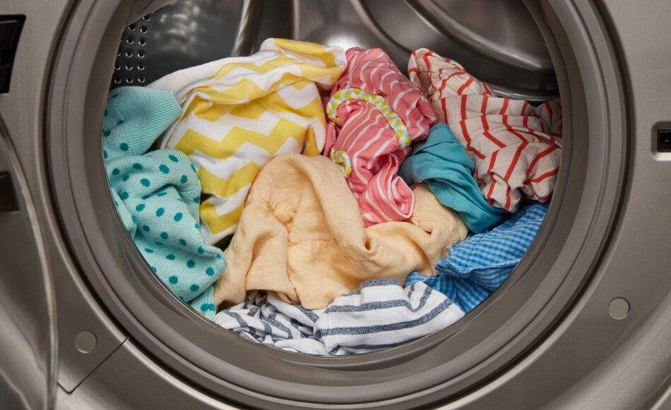 дрехи в сушилня за дрехи
