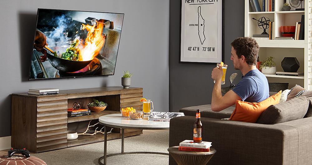 монтиране на телевизор на стената