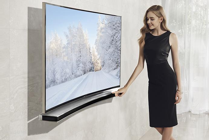 телевизор с извит екран