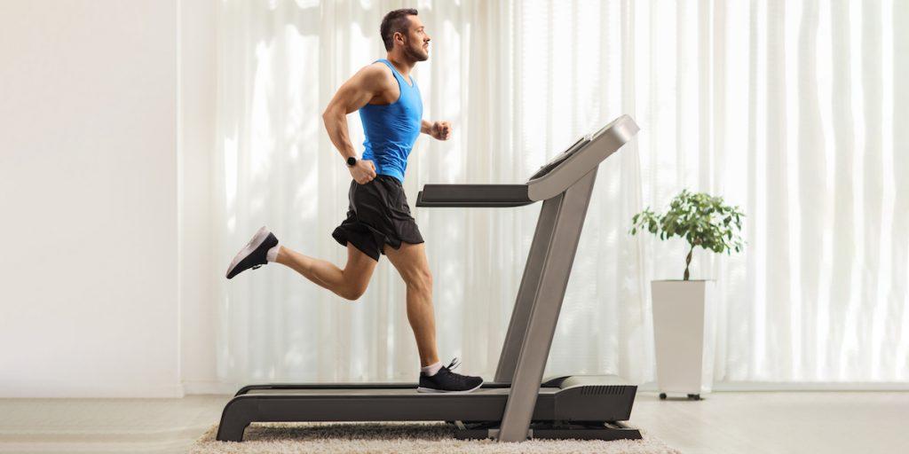 трениране на бягаща пътека