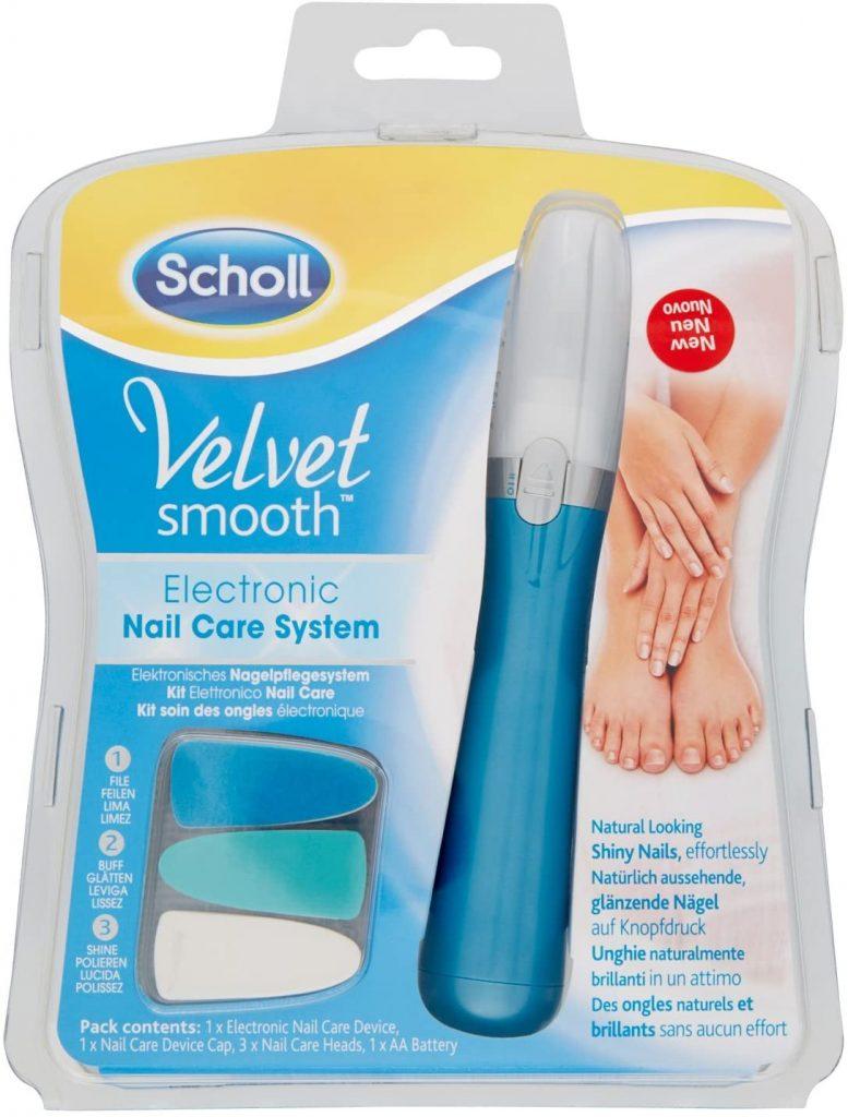 Електронна система за нокти Scholl Velvet Smooth