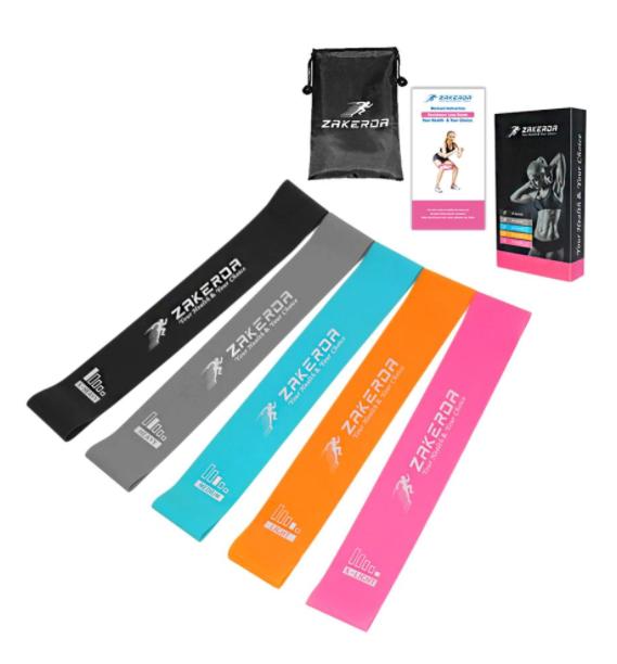 Комплект Фитнес ластици за тренировка Zakerda
