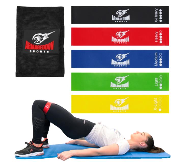 Комплект фитнес тренировъчни ластици