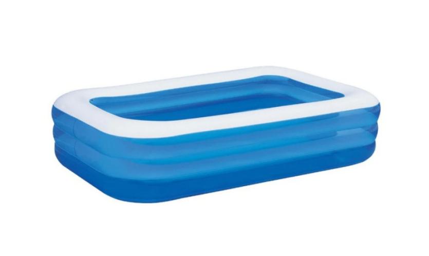 Надуваем басейн Bestway Family Blue